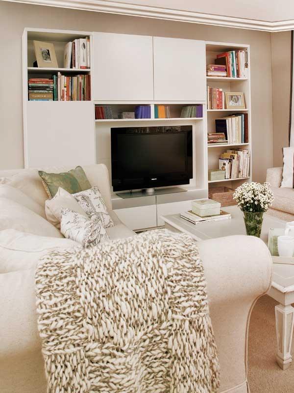 Un salón rectangular - Salon comedor - Decoracion interiores - Interiores, Ambientes, Baños, Cocinas, Dormitorios y habitaciones - CASADIEZ.ES