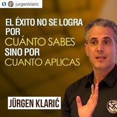 #Repost @jurgenklaric with @repostapp Haz el triple piensa el doble y habla la mitad. #JurgenKlaric #go #vida #instagram #colombia #venezuela #argentina #ventasynegociacion #panama #accion #chile #mexico #eeuu #madrid #videossandrobenecci #like4like #follow4follow #saber #aprender #liderar #ventas #talleres #seminarios #conferencias #Dios #asesorias #coaching #marketing #dinero by cvillacortta