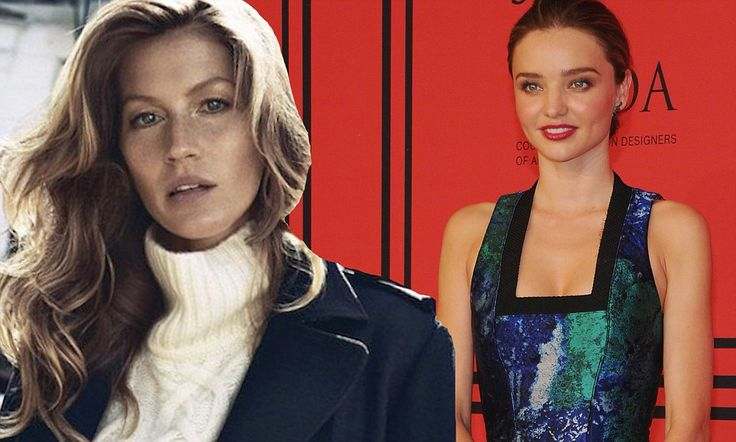 Gisele Bundchen tops list of highest-paid models with $42million income - six times MORE than second place Miranda Kerr