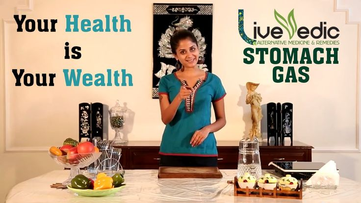 DIY: Stomach Gas Relief with Natural Home Remedies | LIVE VEDIC