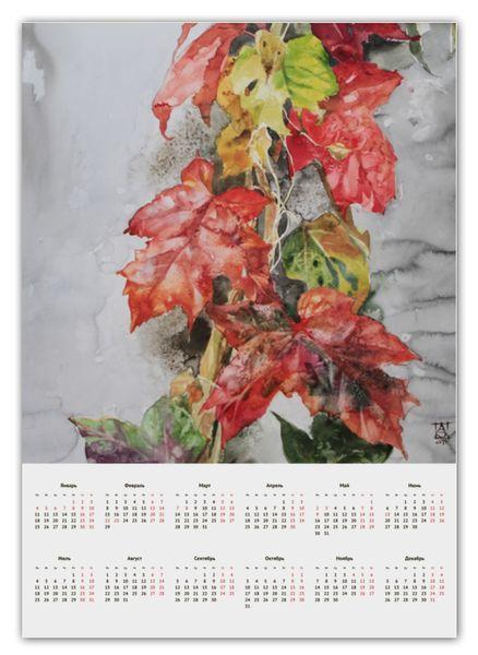 """Календарь А2 """"Осенние листья"""" от theirenemen"""