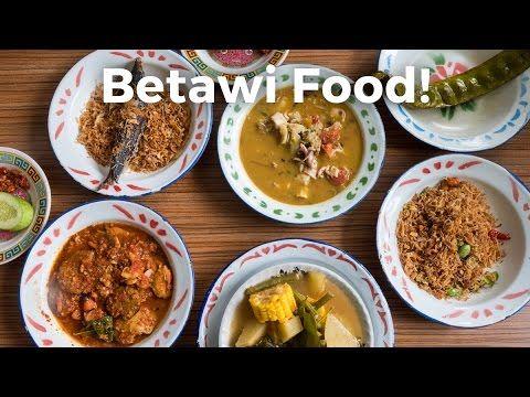 Amazing Betawi Food (WARNING: Stink Beans & Jengkol)
