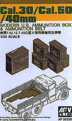 Cajas de municion cal. 30/ CAL.50/40mm