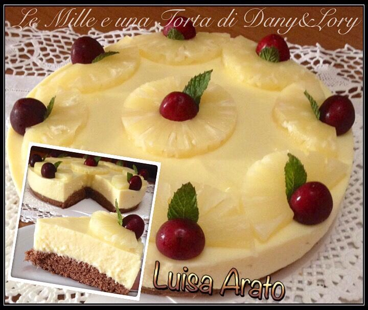 TORTA FREDDA ALL'ANANAS