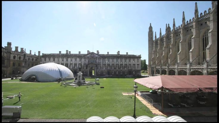 24M Dome Kings Hall Cambridge United Kingdom Check out the difference between our 24m Dome and the standard metal supported structure. Now get in touch with us: engage@dryspace.ae www.dryspace.ae
