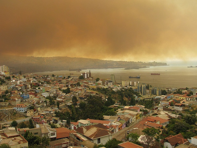 Incendios en Valparaíso