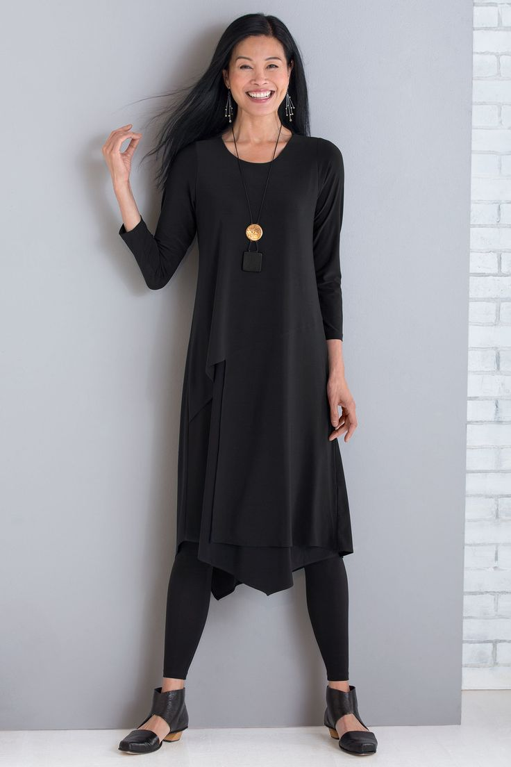 Abstract Dress by Comfy USA (Knit Dress) | Artful Home