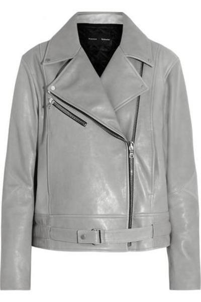 Leather biker jacket #leatherjacket #covetme #proenzaschouler