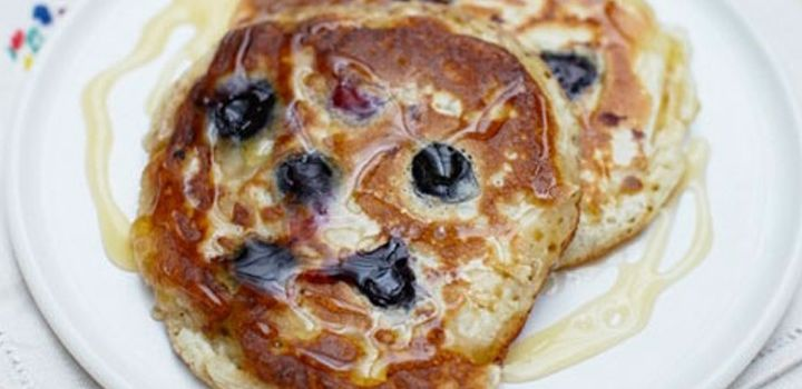 Jamie Oliver's All American Pancakes - delicious!