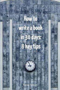 I want to write a novel where do i start