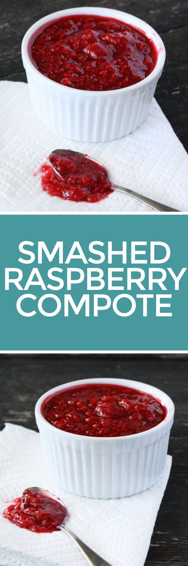 Smashed Raspberry Compote – Cake 'n Knife
