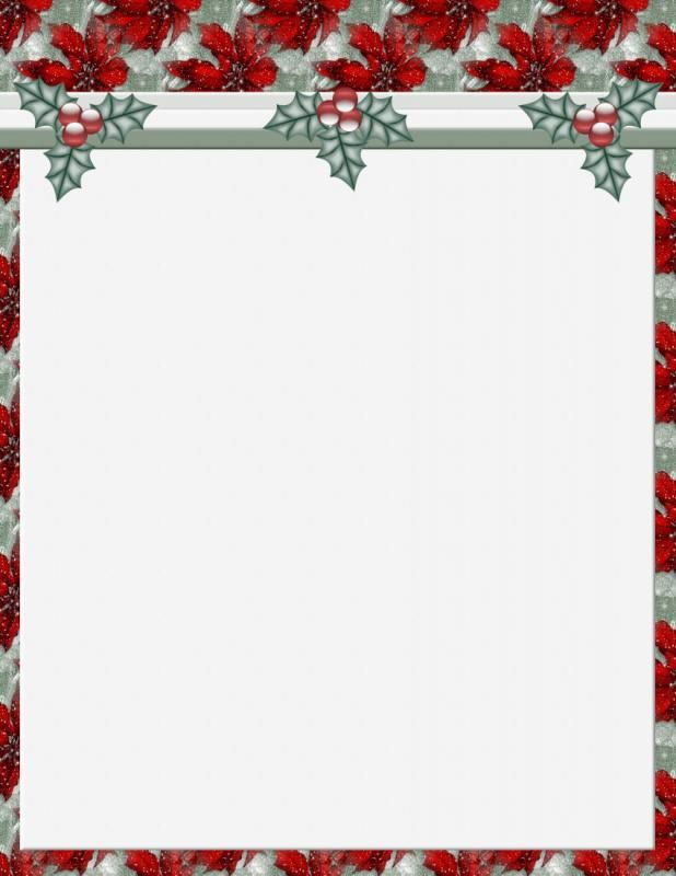 Free Holiday Stationery Templates Template Pinterest Christmas