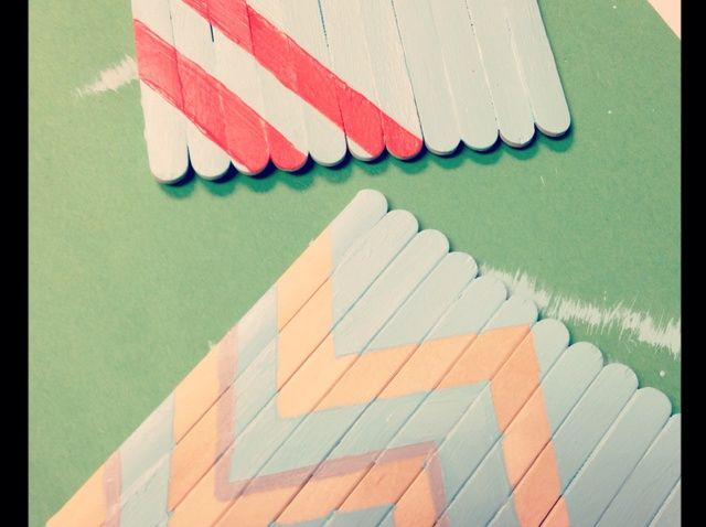 How to Make a Popsicle Stick Coaster