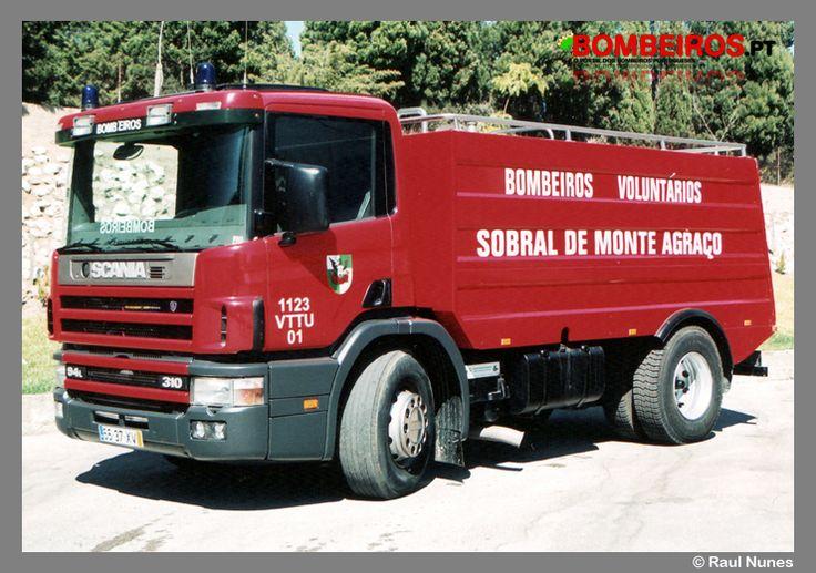 Bombeiros Voluntários de Sobral de Monte Agraço - 1123  VTTU 01 - Scania 94L310