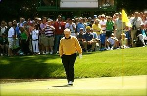 Jack Nicklaus won the Masters Tournament in 1963, 1965, 1966, 1972, 1975, 1986