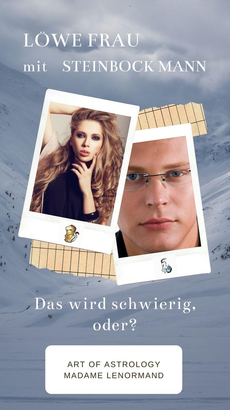 Löwe Mann Und Steinbock Frau
