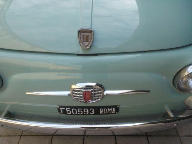 Classic 1970 Fiat 500 110F Model L Luxury Light Blue for sale: detailed description and photos