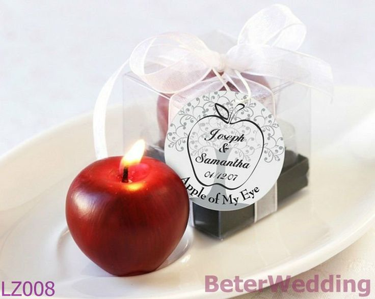 32pcs Free Shipping Mini Apple Candles LZ008     Ideal Small Gifts For Your Unique Occasion 上海倍乐礼品Shanghai Beter Gifts CO Ltd ; http://www.aliexpress.com/store/product/Free-Shipping-12pcs-Palm-Tree-Candy-Box-Festive-Party-Supplies-TH014/513753_652662163.html #candles #Gifts #bébé #candlefavors #favours #baby #candleholders #weddingcandle #favorboxes #candyboxes #weddingdecoration #partydecoration #tabledecoration