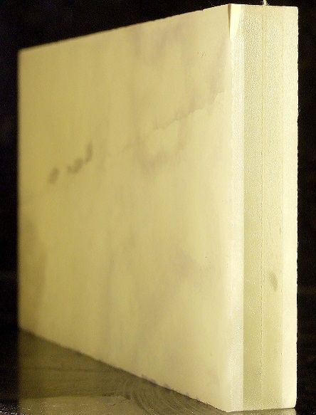 The thin layer of white onyx laminate to the extra clear glass. 3mm white onyx+10mm lamina extra clear glass+3mm white onyx
