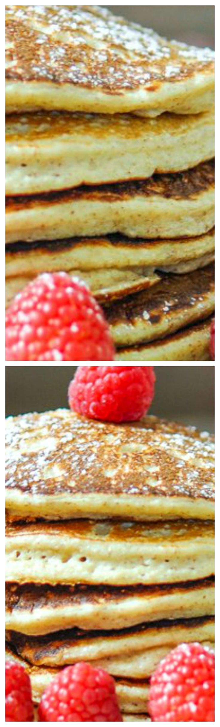 Biggest Loser Pancakes ~ You won't believe the ingredients and you won't believe how good they are at only 220 calories for 3 pancakes.