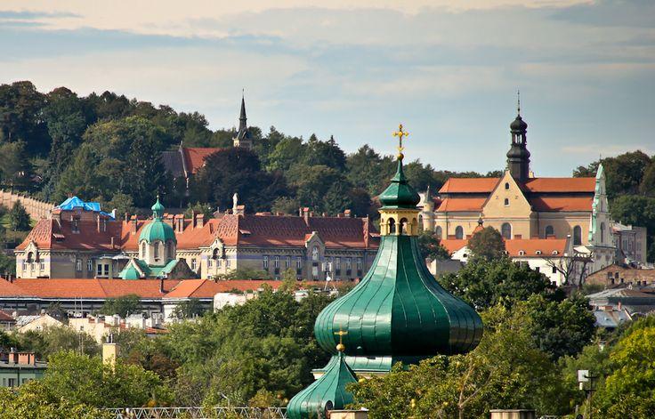jakaś cerkiew+stare miasto