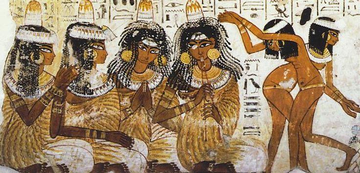 Краткий египетский костюм