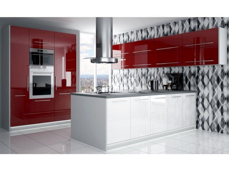 Moderná kuchynská linka Platinum s možnosťou výberu ľubovoľného farebného prevedenia z niekoľkých variant.
