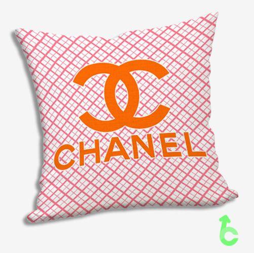#Chanel #Pink #Squares #Orange #Pillow #Cases #pillowcase #pillowcover #cover #custom #cushion #bedding #bedroom #accessories #decorative #decorativePillow #cushionSofa #homedecor #creative #present #giftidea #birthday #women #men #kids #friend