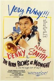 """""""The Horn Blows At Midnight """" (1945) Jack Benny & Alexis Smith"""