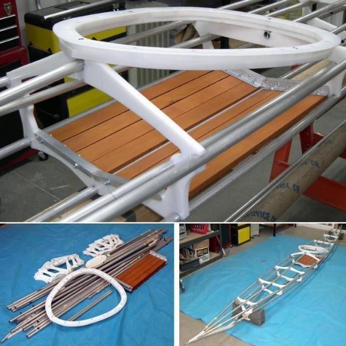 how to make a folding kayak
