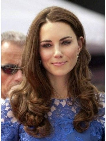 Long Wavy Lace Front Kate Middleton Wigs