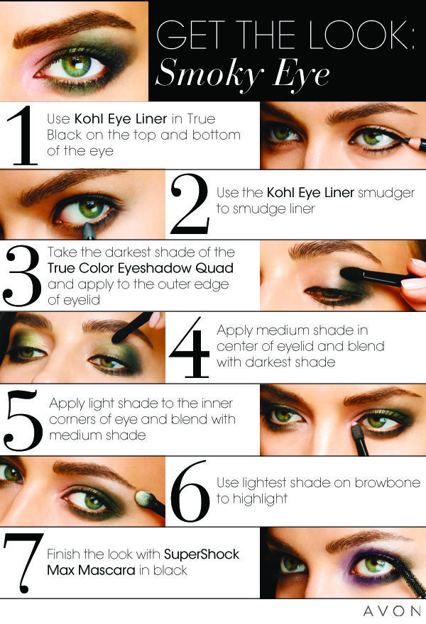 How to Create a Smoky Eye The latest look for the season. Buy here, shipped direct. www.sunnydayshopper.com