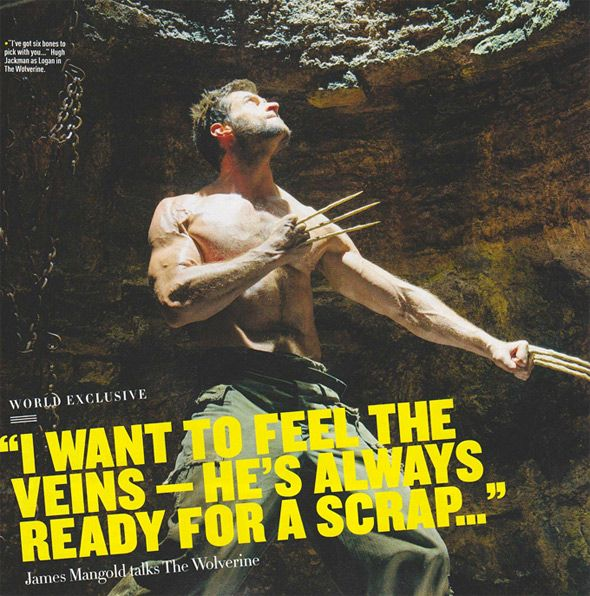 The Wolverine bone claws - See best of PHOTOS of the WOLVERINE film  http://www.wildsoundmovies.com/the_wolverine_bone_claws.html