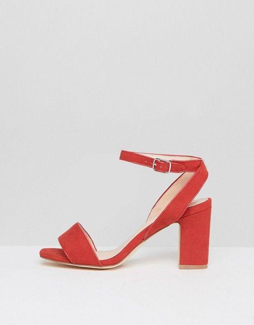 63c6ea58457 Coco Wren Mid Block Heel Sandal