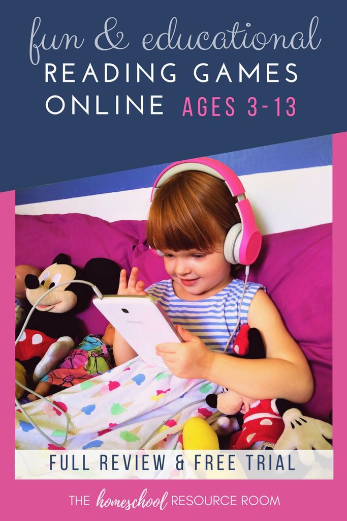 Make Learning Fun With Online Reading Games Secular Homeschool