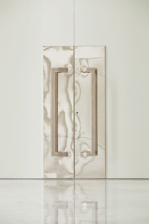Faena Arts Center — Door handle details