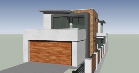 First narrow design concept sketch