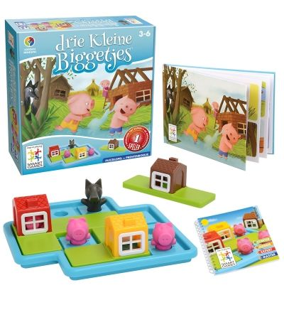 Drie Kleine Biggetjes | SmartGames - Puzzelspellen voor één speler