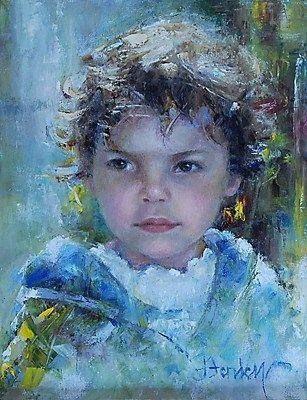 """Lucy M"" - Original Fine Art for Sale - © Denise Henley"