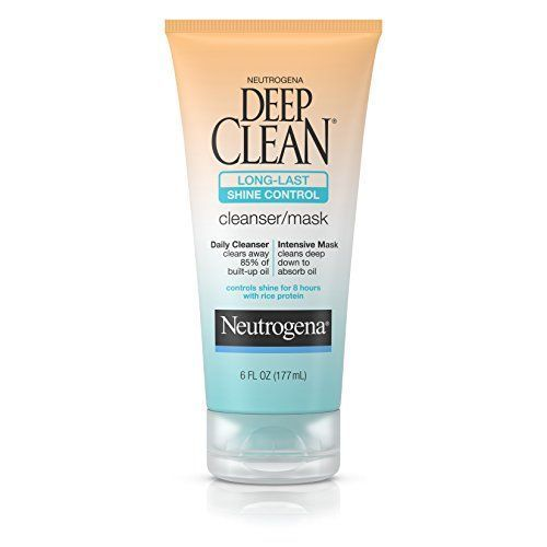 #Neutrogena Oil-Free #Deep #Clean #Cream #Cleanser 6-fluid ounce tube of facial cleanser/mask Clears away 85% of built-up oil and controls shine Specially formulated for oily skin https://skincare.boutiquecloset.com/product/neutrogena-oil-free-deep-clean-cream-cleanser/