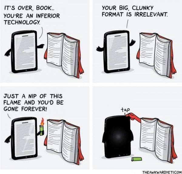 Ebooks Are Inferior to Real Books