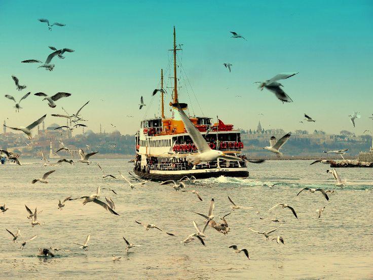 Historic Bosphorus Ship