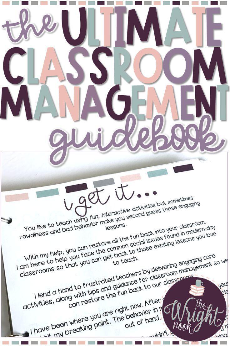 Classroom Management Plan The Ultimate Guidebook Teacher Stuff