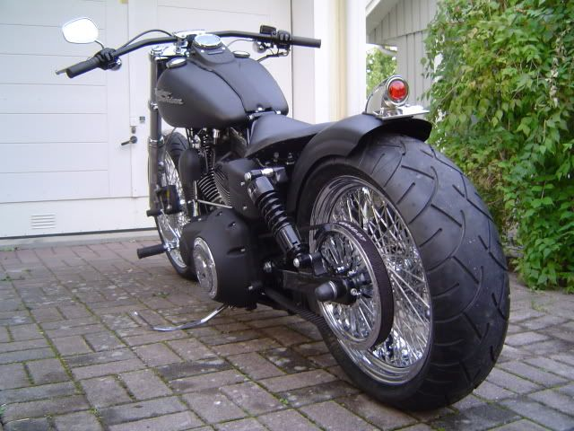 Harley Davidson Street Bob 2007 Another 240 Rear Wheel I Think