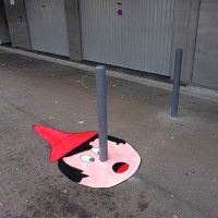 45 More Creative Street Art Works by French Artist OakOak