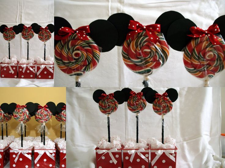 decoração de festa simples da minniee