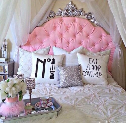 986 best images about my girly home on pinterest makeup for Girly room decoration