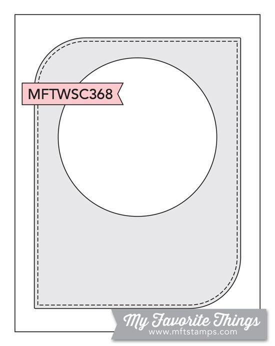 MFT Card Challenges: Wednesday Sketch Challenge - Sketch 368 #mftstamps