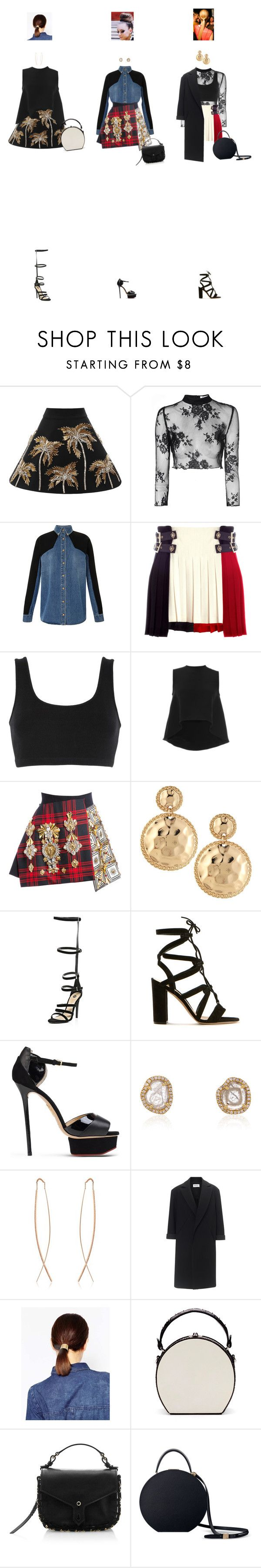 """Apr. 10, 2016"" by chocohearts08 ❤ liked on Polyvore featuring FAUSTO PUGLISI, Glamorous, adidas Originals, HUISHAN ZHANG, Kenneth Jay Lane, River Island, Gianvito Rossi, Charlotte Olympia, NSR Nina Runsdorf and Diane Kordas"