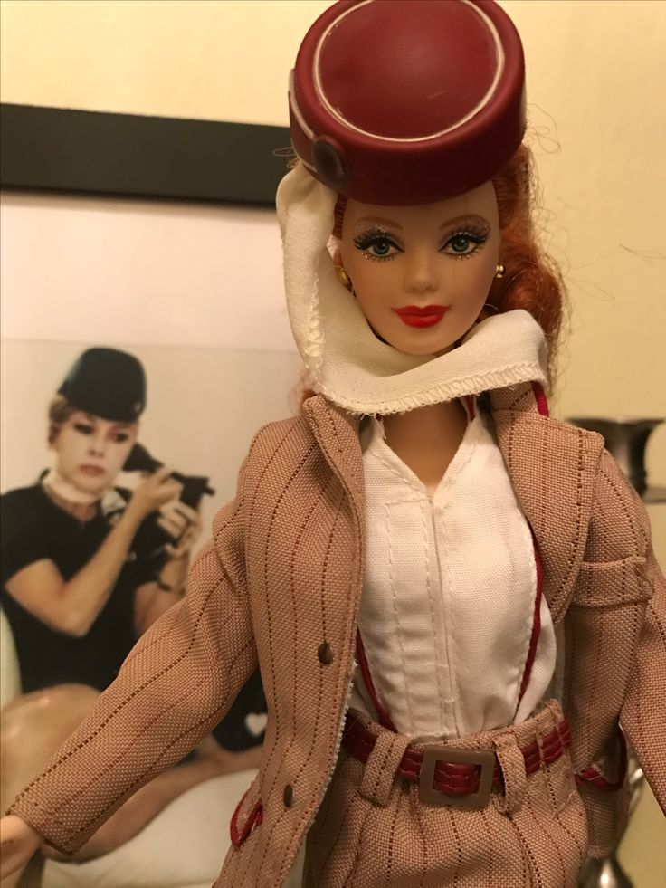 Barbie flight attendant  me and my doll